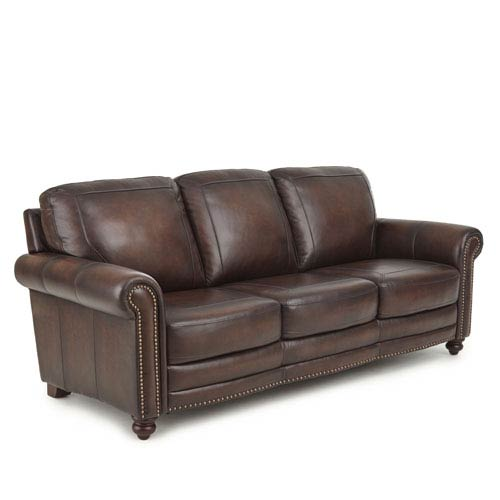Steve Silver Company Ellington Leather Sofa