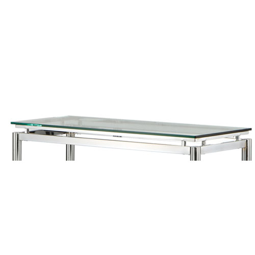 Steve Silver Company Nova Sofa Table Glass Top Only