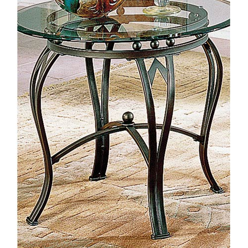 Steve Silver Company Madrid End Table Base Only