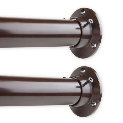 Cocoa 48-84 Inches Room Divider Rod and Socket Set