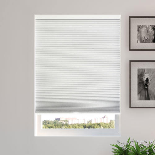 Evening Mist 30 x 64 In. Blackout Cordless Cellular Shades