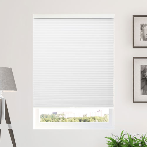 Morning Mist 64 x 48 In. Cordless Cellular Shades