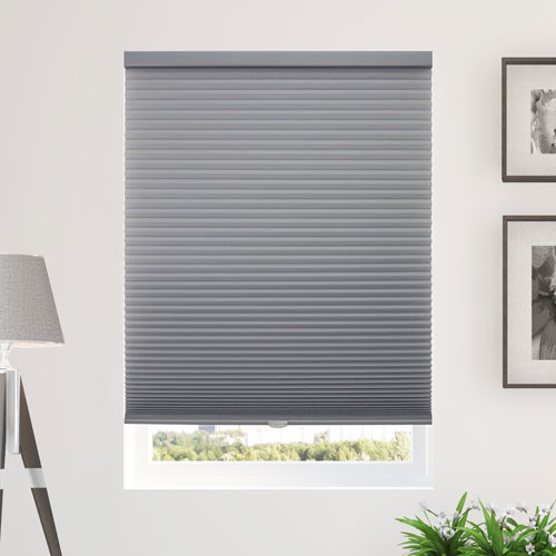 Morning Pebble 28 x 84 In. Cordless Cellular Shades
