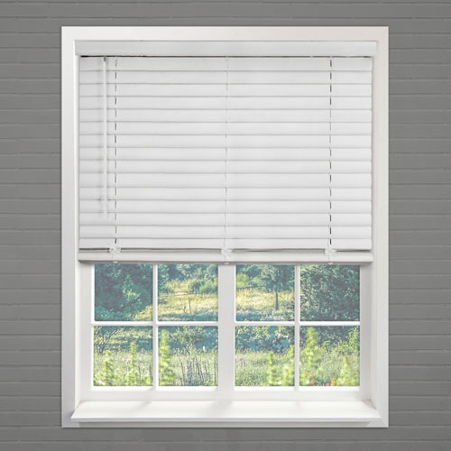 Chicology Pickled Oak 27 In. x 64 In. Blinds