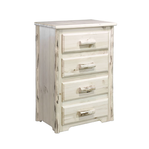 Montana Unfinished Chest Four Drawer