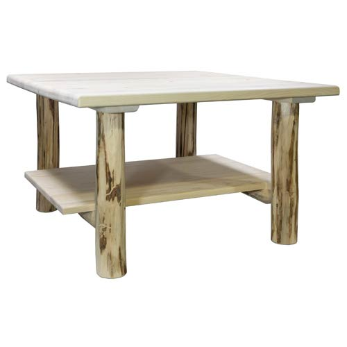 Montana Woodworks    Montana Unfinished Cocktail Table