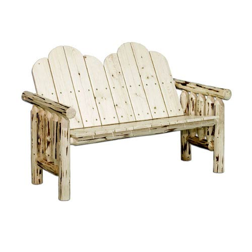 Montana Unfinished Deck Bench