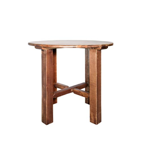 Homestead Stained and Lacquered Table, Bistro