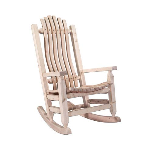 Superieur Montana Woodworks Homestead Unfinished Rocker Adult