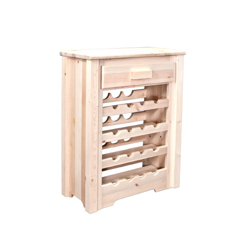 Homestead Unfinished Wine Cabinet