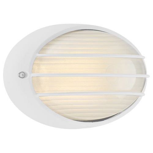 Cabo White LED Outdoor Wall Mount
