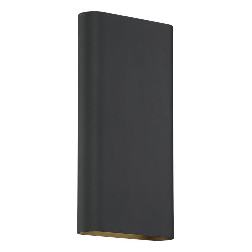 Lux Black 6-Inch Led Bi-Directional Tall Wall Sconce