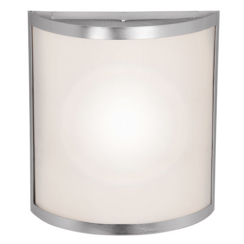 Access Lighting Artemis Brushed Steel 10-Inch Two-Light Led Wall Sconce