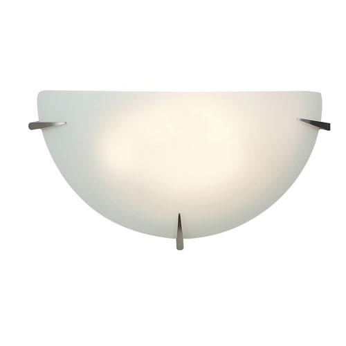 Zenon Brushed Steel One-Light LED ADA Wall Sconce