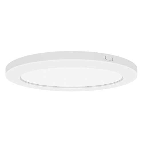 Modplus White 7-Inch Led Round Flush Mount