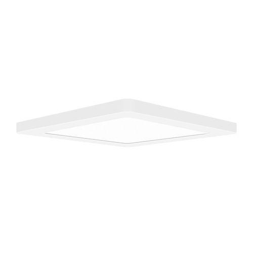 Modplus White 12-Inch Led Square Flush Mount