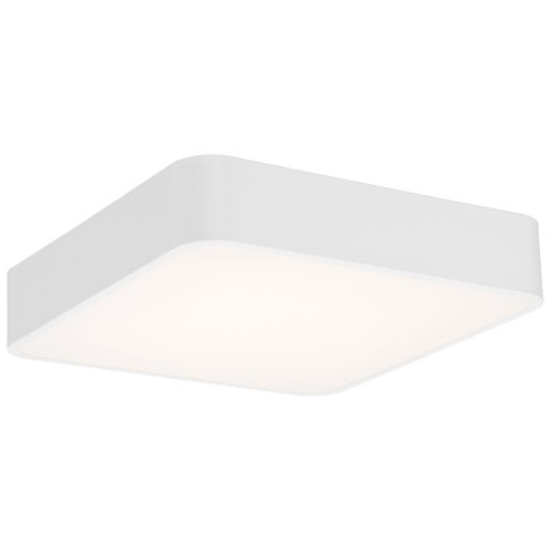 Granada White 16-Inch LED Flush Mount