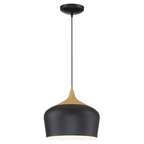 Blend Black Led Pendant