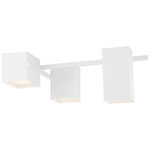 Madrid Matte White LED Flush Mount
