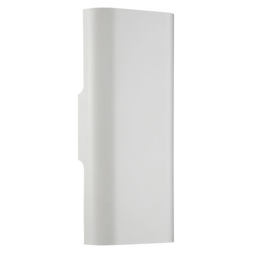 Bi-Punch White Led Wall Sconce