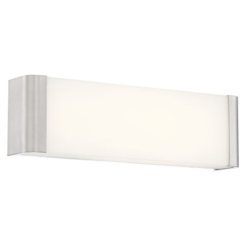 Origin Brushed Steel 16-Inch Led Bath Bar
