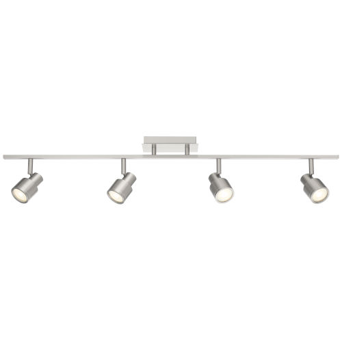 Lincoln Brushed Steel Four-Light LED Track Light