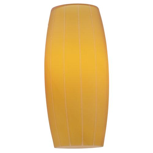 Cognac Glass Shade Orange Mini Pendant Shade