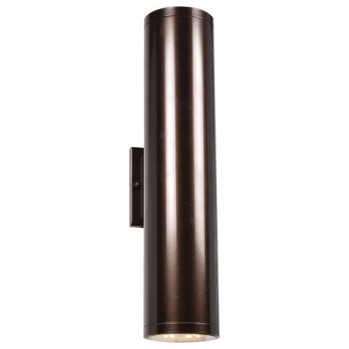 Sandpiper Bronze Two-Light ADA LED Wall Sconce