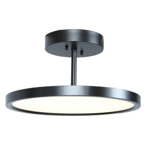 Sphere Oil Rubbed Bronze LED Flush Mount