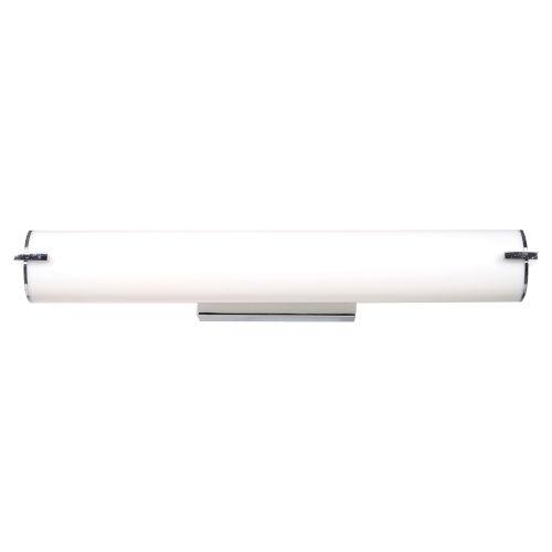 Tube Chrome 25-Inch LED Bath Vanity