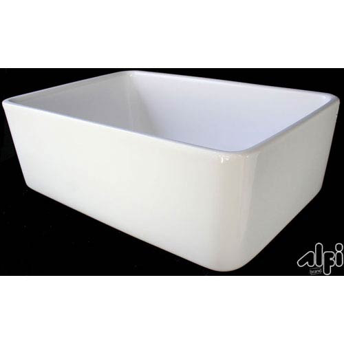 Alfi Brand 23 Inch Fireclay Farmhouse Kitchen Sink