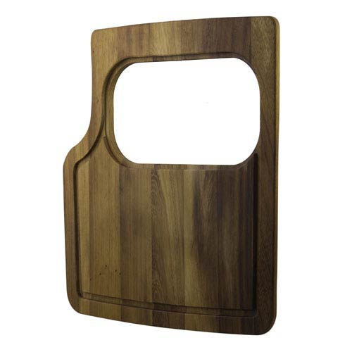 Rectangular Wood Cutting Board with Hole