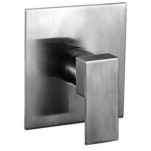 Alfi Brand Brushed Nickel Modern Square Pressure Balanced Shower Mixer