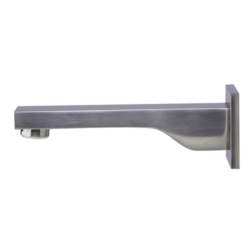 Brushed Nickel Wall mounted Tub Filler Bathroom Spout