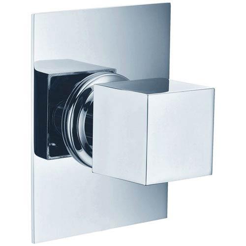 Alfi Brand Polished Chrome Modern Square 3 Way Shower Diverter