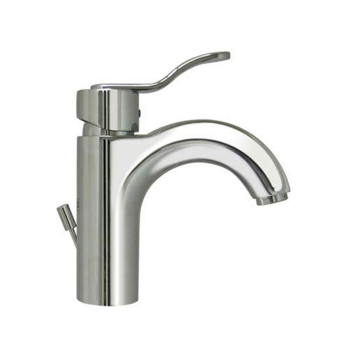 Wavehaus Polished Chrome Single Hole/Single Lever Lavatory Faucet w/Pop-Up Waste