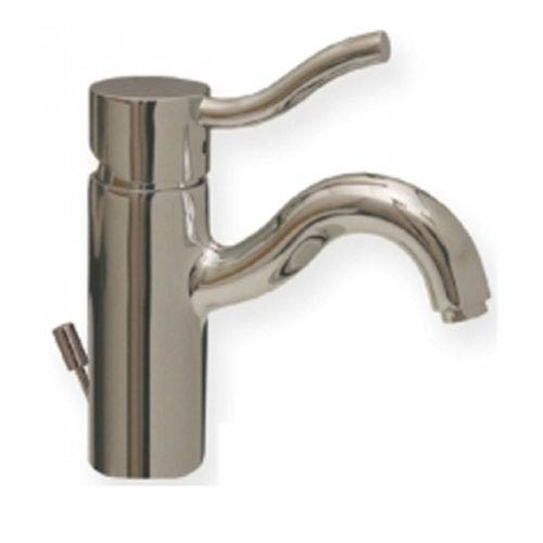 Whitehaus Venus Polished Chrome 5-Inch Single Hole/Single Lever Lavatory Faucet w/Pop-Up Waste
