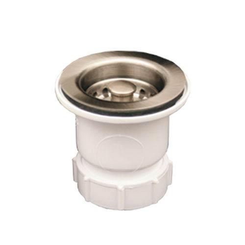 Whitehaus Titanium 2-Inch Basket Strainer