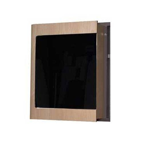 Aeri Natural 21.75-Inch Single Door Medicine Cabinet w/Mirror Door and Two Shelves
