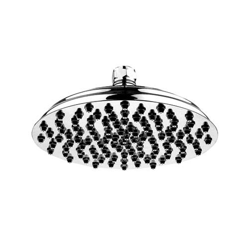 Whitehaus Showerhaus Polished Chrome 12-Inch Large Sunflower Rainfall Showerhead w/108 Spray Nozzles - Solid Brass