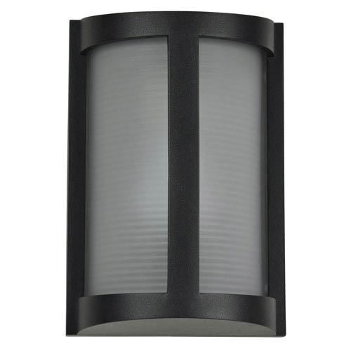 Access Lighting Pier Black One-Light Outdoor Wall Sconce