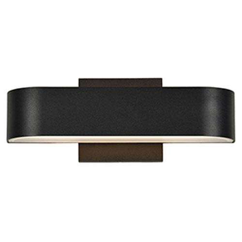 Montreal LED Black 2-Light Outdoor Wall Light