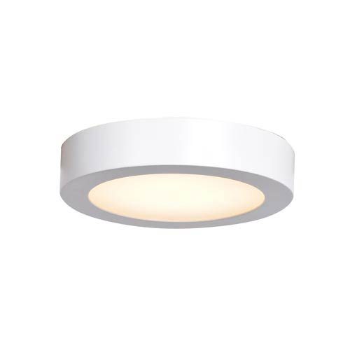 Ulko Exterior White 7-Inch LED Outdoor Flush Mount