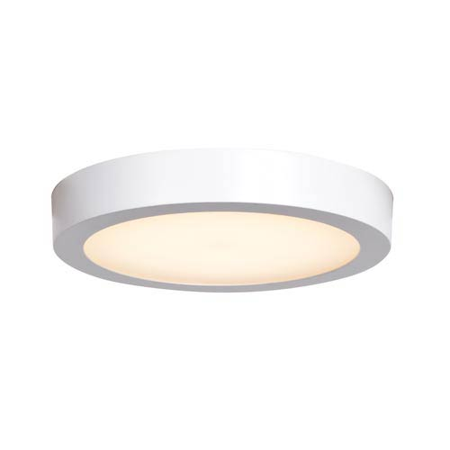 Ulko Exterior White 9-Inch LED Outdoor Flush Mount