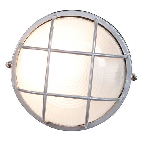 Nauticus Satin One-Light LED Outdoor Wall Sconce