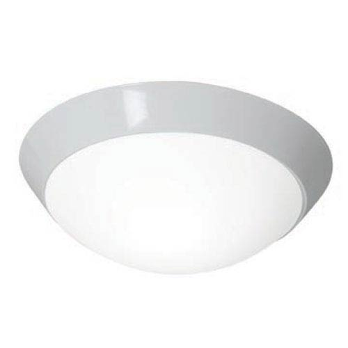 Access Lighting Cobalt White One-Light 15-Inch LED Flush Mount