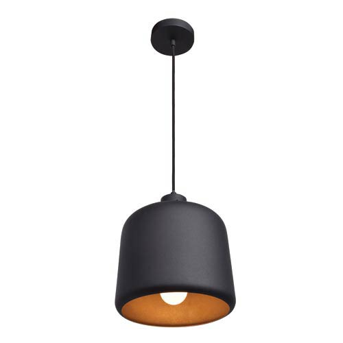 Access Lighting Nostalgia Matte Black 10-Inch One-Light Mini Pendant