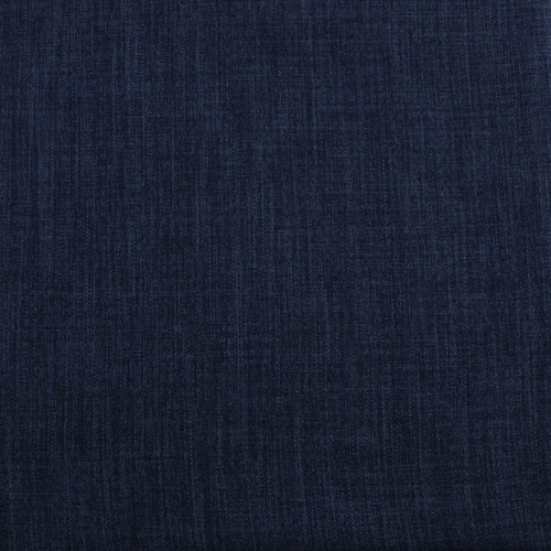 Blue Indigo Faux Linen Blackout Curtain - SWATCH ONLY