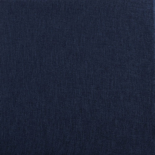 Rose Street Stormy Blue Faux Linen Semi Sheer Curtain Sample Swatch Only
