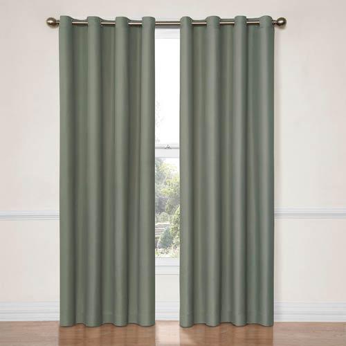 Eclipse Dane River Blue 52-Inch x 63-Inch Blackout Window Curtain Panel